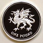 British Pound-Welsh Dragon