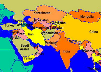Afghanistan and Asia