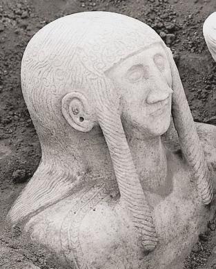 Gozan Statue