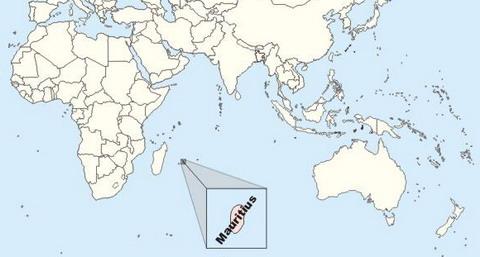 Mauritius Location