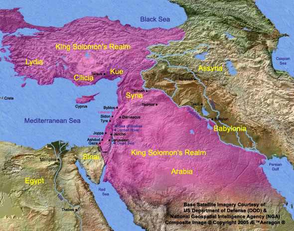 Kingdom of Solomon Corrected